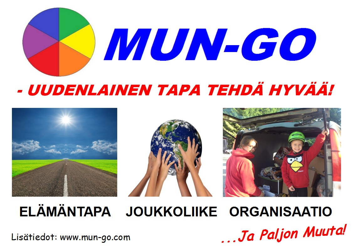 MUN-GO - Uudenlainen tapa tehdä hyvää 5