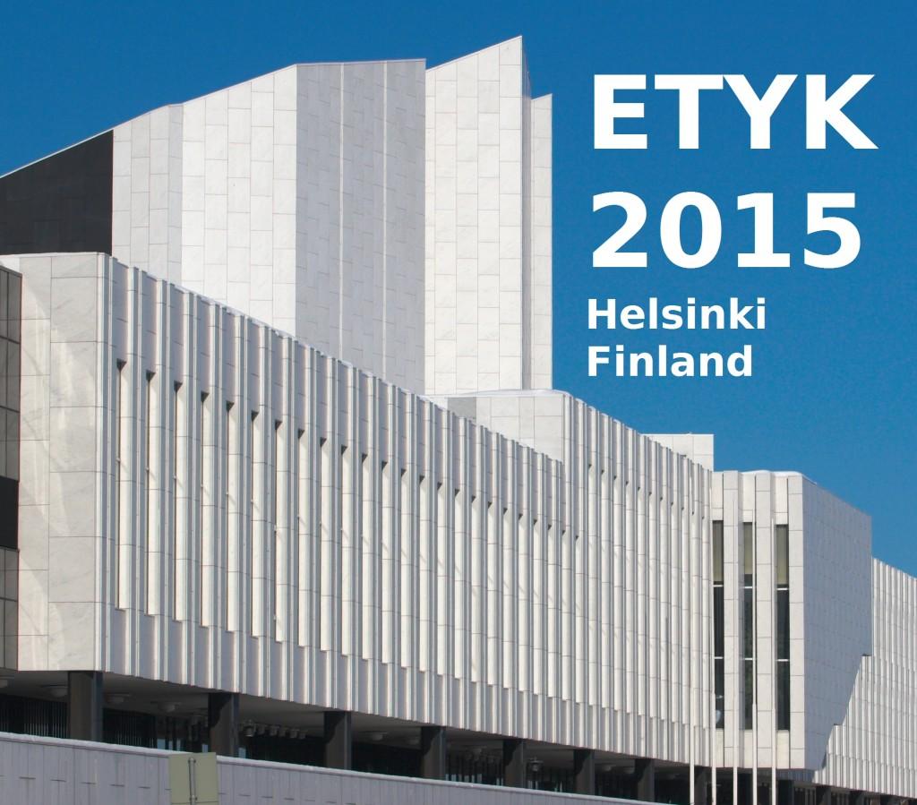 ETYK 2015 Helsinki Finland